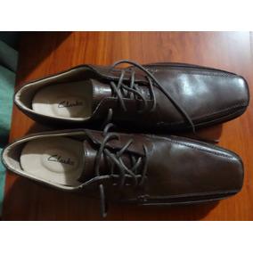 Zapatos Clarks Verro Real Brown Lea Us 10,5 W