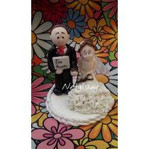 Centros De Torta Casamiento Porcelana Fria Netglam