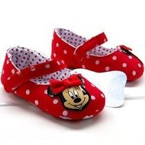 Minnie Sapatinho Bebê Disney Antiderrapante Frete Gratis