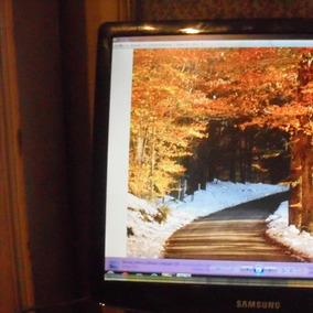 Monitor Lcd De 19 Pulgadas Muy Bueno
