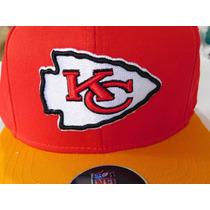 Kansas City Chiefs Nfl Team Talla S M Snapback Envio Gratis