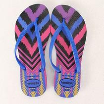 Chinelo Feminino Havaianas Slim Tribal N - Azul