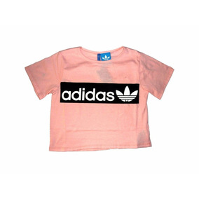 Remera Top Femenina adidas Rosa