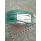 Cable Bw.8 Awg Verde / 100 Metros Cableco Por Metro