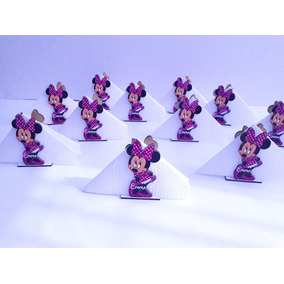 Servilleteros Personalizados Minnie - Fibrofacil