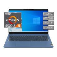 Notebook Lenovo Ideapad Ryzen 5 5500 8gb Ssd256 15,6 Full Hd