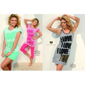 Pijama Marcela Koury Invierno, 2 Piezas, Talle S, Negro