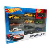 Hot Wheels Pack X10 Colección Autos Surtidos 54886 Original