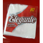 Servilletas De Papel Tissue Blanco 33 X 32 Cm (paq X 80 Un)