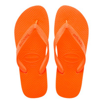 Fight For Your Right Ojotas Havaianas Original Mujer Naranja