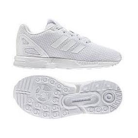 Tenis adidas Originals Zx Flux White/white/white Nasotafi2