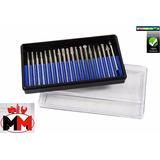 Jogo 20 Pontas Diamantadas Kit Micro Retífica Western W-20