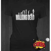 Playeras The Walking Dead, Serie, Zombis, Baratas, Chidas