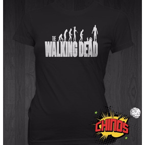 Playeras The Walking Dead, Serie, Zombis, Baratas, Chidas