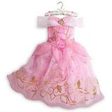 Vestido Fantasia Aurora Bela Adormecida Temas Disney +brinde