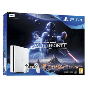 Ps4 500gb Blanca +star Wars Battlefront Ii+ Hidden Agenda !!