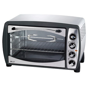 Horno Electrico 38 Lts Grill Spiedo Acero Inoxidable 3 Posic