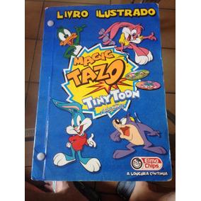 Álbum Magic Tazo Tiny Toon Full Frete Grátis Leia O Anúncio