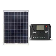 Painel / Placa  Solar Km 85w + Controlador De Carga 10a