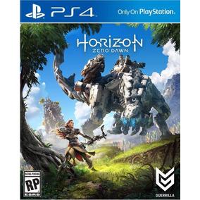 Jogo Horizon Zero Dawn Ps4 Playstation 4 Mídia Física