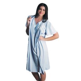 Pijama Para Dama Bata Y Camison Tambien Talla Xl 7011
