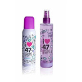 Perfume 47 Street Urban Set Body Splash + Antitranspirante