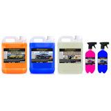 Flotador 5l + Shampoo 5l + Solupan + Darling 1l+ Styletto 1l