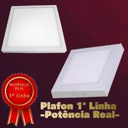 Luminaria Plafon Led 6w - Sobrepor - Bivolt Quadrada
