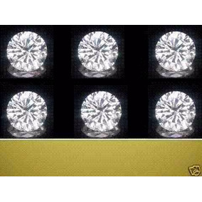 6 Diamantes Si 100% Naturales