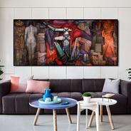 Cuadro-abstracto-decorativo- Canvas 130x60 Cm.