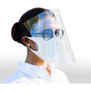 Protector Careta Facial Cubrebocas 50 Piezas De Fabrica