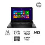 Laptop Hp Amd A6 5200 512 Video Dedicado 500 Gb Disco