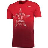 Camiseta Buzo Nike Team Usa Star Verbiage Red