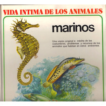 Libro Vida De Los Animales Marinos Costumbres Problemas