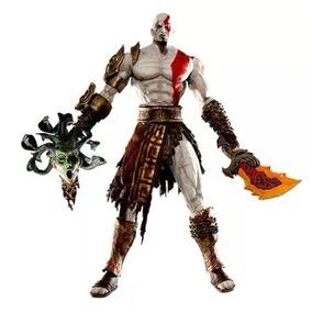 Kratos Vs Medusa God Of War Pronta Entrega