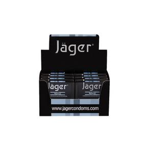 Preservativos Jäger - Natural - 8 Estuches Con 3 Un.