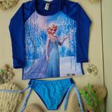 Traje De Baño Protección Uv Camisa Surf Para Niñas Niños