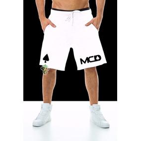Bermuda Moletom Mcd Masculina Shorts Academia Promoção ! bc9e3f091c5
