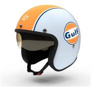 Casco Moto Abierto Hawk 721 Gulf Limitado Solomototeam