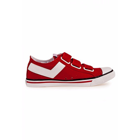 Zapatillas Pony Shooter Low Cvs Ve Kids Oferta Rojas