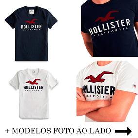 a796536202 Camiseta Hollister Bonequinho Importada California - Calçados ...