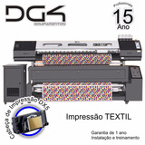 Dg4 - Plotter - Textil - Epson - Impressora De Tecido - Nova