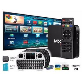 Tv Box Mx9 Android Tv Kodi Netfilx + Mini Teclado Promoção !