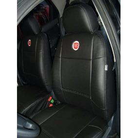 Capa Banco Carro 100% Couro Courvin Fiat Uno Mille 1996 4p