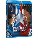 Blu Ray Capitan America Civil War Nuevo Sellado Iron Man