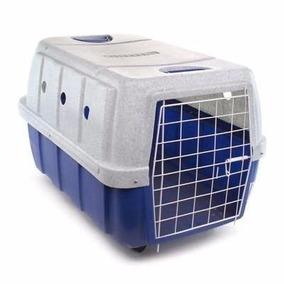 Caixa De Transporte Cães Gatos Clicknew Nº 4 - Frete Grátis