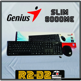Kit Teclado Mouse Genius 8000me Mendoza!