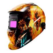 Máscara De Solda Automática Motoqueiro Fantasma C/ Regulagem