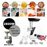 2800w Eléctrico Industrial Carne Amoladora Carnicería 4 X