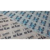 Tickets Fichas Consumação Festa Balada Papel Moeda Kit 120u